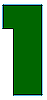 RECTANGLE WITH LEFT STEP - GREEN