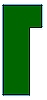 RECTANGLE WITH RIGHT STEP - GREEN