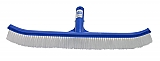 "18"" Brush, White Poly Bristles, All Plastic"