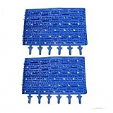 97.  Brushes (Blue Molded Rubber)(Pair)