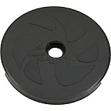 Wheel, Large, Black (No Bearings Included)