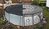 21' x 41' Oval  Arctic Armor EZDrain Winter Cover - 15year Warranty
