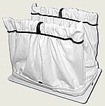 Dolphin Filter Bag - White - Reusable -  Lasts for Years!